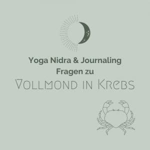 Yoga Nidra Vollmond in Krebs
