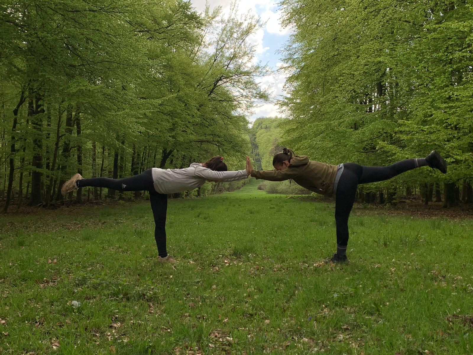 Yoga Wanderung im Theißtal